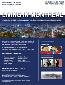 Living in Montreal movie poster
