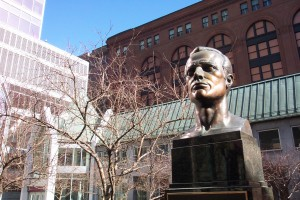Bust of Raoul Wallenberg
